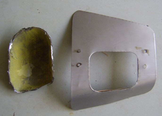 Transmission Tunnel Adapter Plate