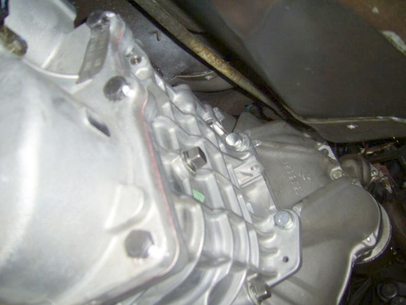 Right Side View of TKO 500 Installed in a C3 Corvette