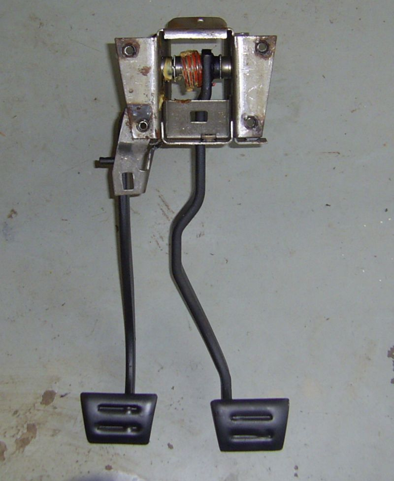 Corvette C3 Clutch / Brake Pedal Assembly