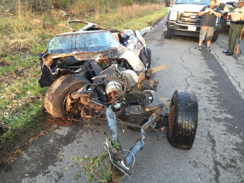 Corvette C3 Crash Pictures