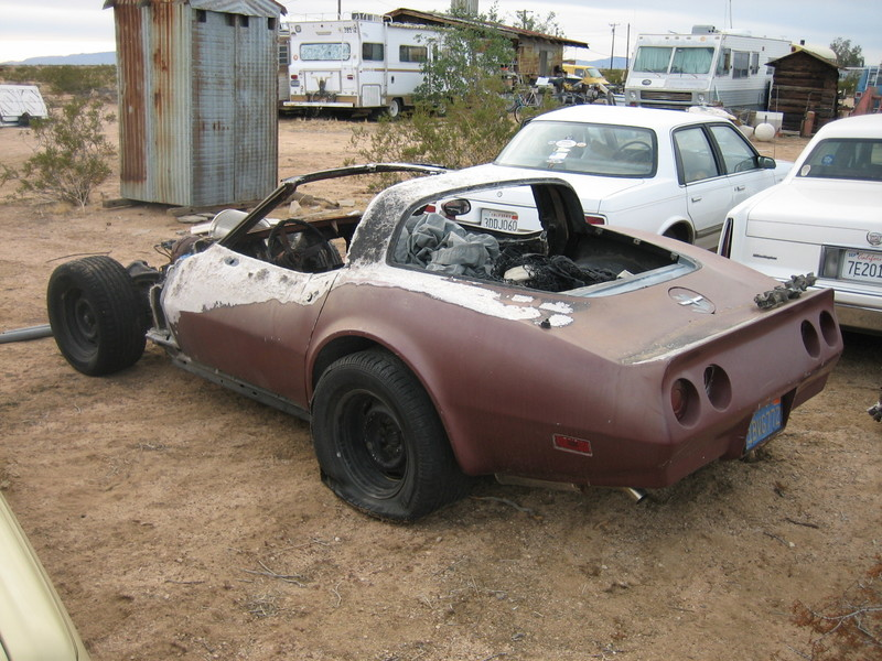 Corvette C3 Salvage