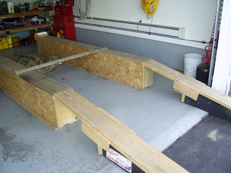 Corvette C3 Ramps Build Home Made Car Ramps