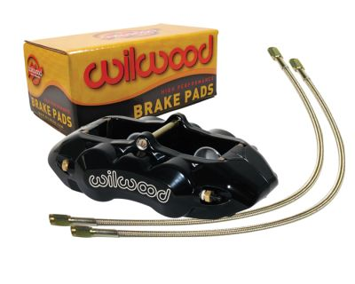Installation of Wilwood Aluminum Brake Calipers on a C3 Corvette