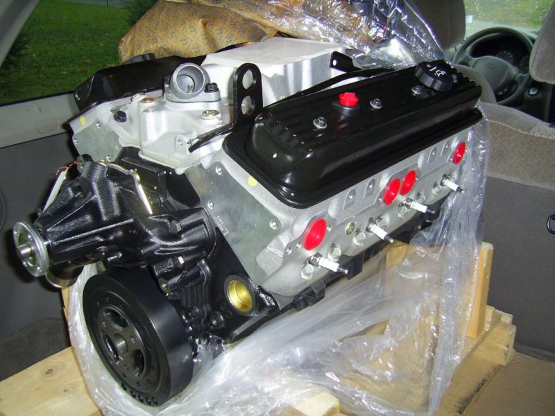 Zz4 Gm Crate Engine Install In A 1977 Corvette C3
